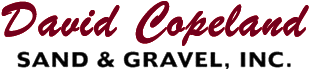 David Copeland Sand & Gravel, Inc.